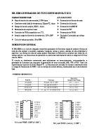 [1] Circuito Integrado XR2206 Para Generar Formas de Onda