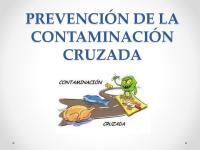 1. Prevencion de La Contaminacion Cruzada