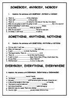 19259 Somebody Anybody Nobody Something Anything Etc