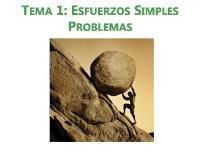 1_esfuerzos Simples Problemas Resueltos
