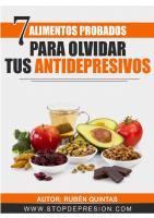 7 Alimentos Probados Para Olvidar Tus Antidepresivos