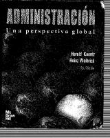 Administracion Una Perspectiva Global