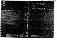 Advanced Soil Mechanics - B.M.das