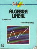Algebra Lineal-Seymour Lipschutz- Schaum-2 Edicion