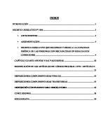Analisis Decreto Legislativo 1384