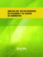 Analisis Del Sector Biodiesel
