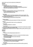 Analisis Foda de La Institucion Educativa Inicial
