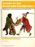 Armies of the Greek and Persian Wars 500-350BC
