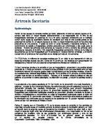 Artrosis facetaria