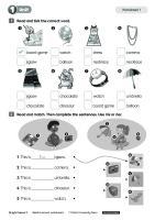 Bright Ideas 2 Reinforcement Worksheets