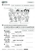 Bright WORKSHEETS - Ideas 3