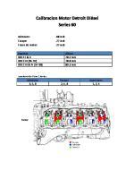 Calibracion Motor Serie 60