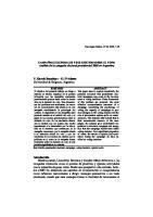 Campañas Electorales y Sus Efectos Sobre el Voto - 2003