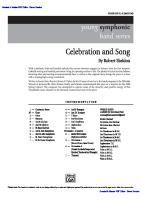 Celebration and Song Senza Protezioni