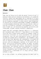 Chan Chan: Historia