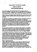 ciudades criollas, Romero