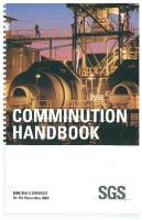 Comminution Handbook - SGS - 5th Ed
