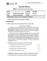 Comparatives and Superlatives (1)