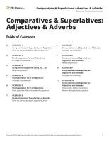 Comparatives and Superlatives Esl
