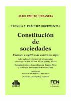 CONSTITUCION DE SOCIEDADES. 2018. Aldo Urbaneja.pdf