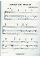 Contigo en La Distancia - Christina Aguilera - Cifrado