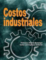Costos Industriales Jimenez Boulanger Carlos Luis Espinoza Gutierrez PDF