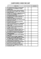 CUESTIONARIO OHSAS 18000