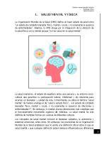 Cultura y Salud Mental