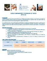 Curso de Elaboracion y Decoracion de Tortas PDF