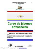 Curso de Jabones Arte San Ales