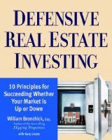 Defensive Real Estate Investing