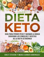 Dieta Keto Para Perder Peso y Quemar La Grasa
