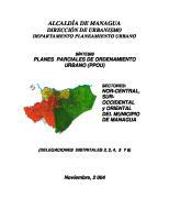 Documento Sintesis de Los Planes Parciales
