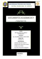 Documentos Academicos y Cientificos