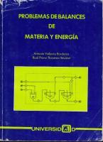 Documents - MX - Capitulo 1 Balances de Materia y Energia DR Antonio Valiente PDF
