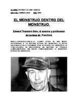 Ed Gein: El Monstruo Dentro Del Monstruo