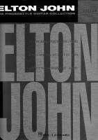 Elton John - Fingerstyle Collection