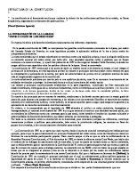 Ensayo Sobre Estructura de La Constitucion (1)