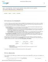 Errores Absolutos y Relativos _ Fisicalab
