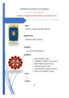 Escuela Academico Profesional De Ingeniera Civil: Tema