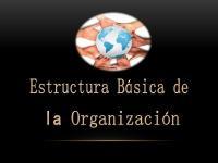 Estructura Basica de La Organizacion