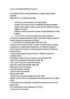 Estructura Organizacional Coca Cola