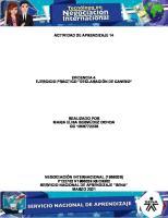 Evidencia 4 Ejercicio Practico Declaracion de Cambio