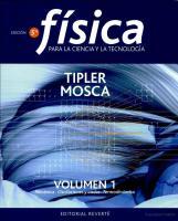 Fisica Tipler 5ta Edicion Vol 1