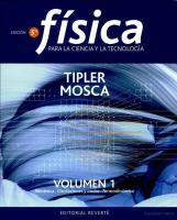 Fisica Tipler 5ta Edicion Vol 1 - Copia