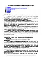 Fraude Administracion Personas Juridicas Peru