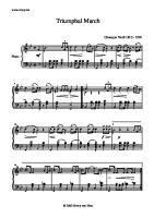 G. Verdi - PNO - Marcha Triunfal de Aida