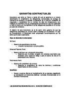Garantias Contractuales