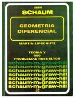 Geometria-Diferencial-Lipschutz