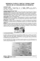 Guia Contenidos Legado Clasico Grecia y Roma